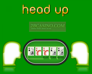 head up poker