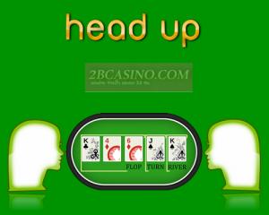 head up poker
