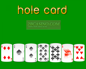 hole card