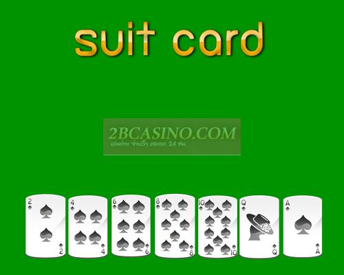 suit card